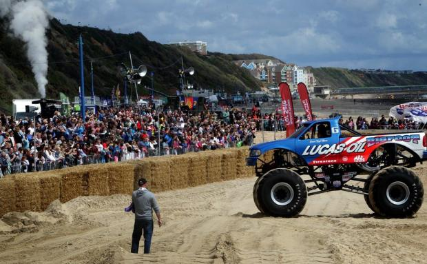 Thousands descend on Bournemouth as first-ever Wheels Festival gets off to a racing start