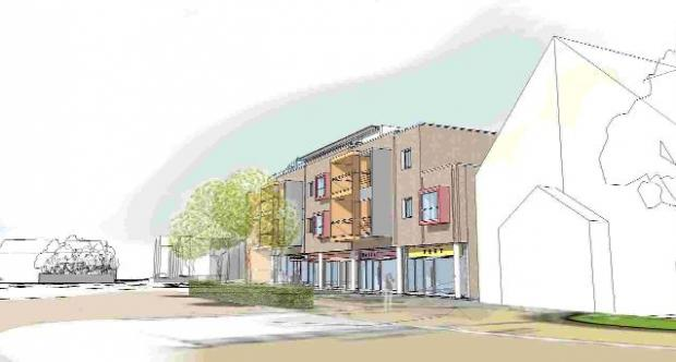 Bournemouth Echo: NEW LOOK: A draft image of the proposed development