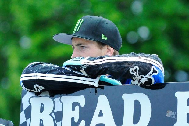 LATE LAPSE: Darcy Ward finished third in the final heat
