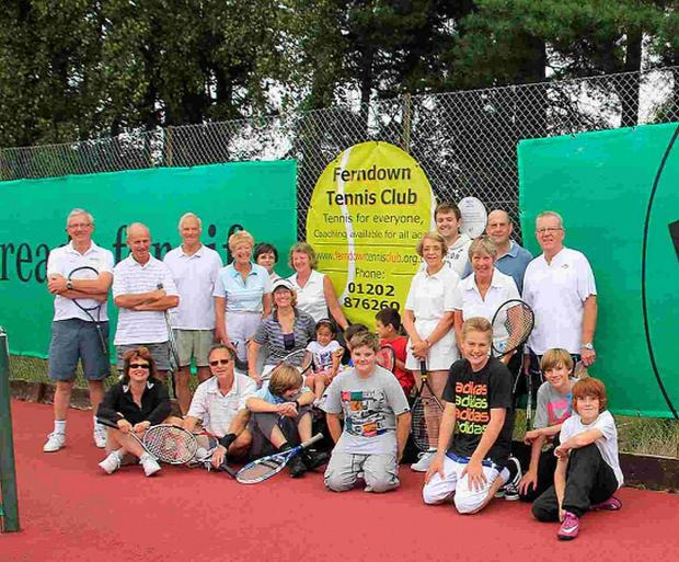 Everyone for tennis as Ferndown club receives £39k grant for floodlighting