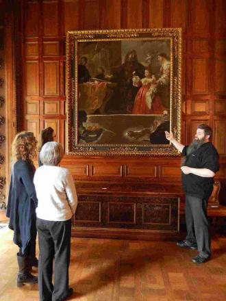 HISTORIC: Homage to Velazquez by Luca Giordano will hang in Wimborne