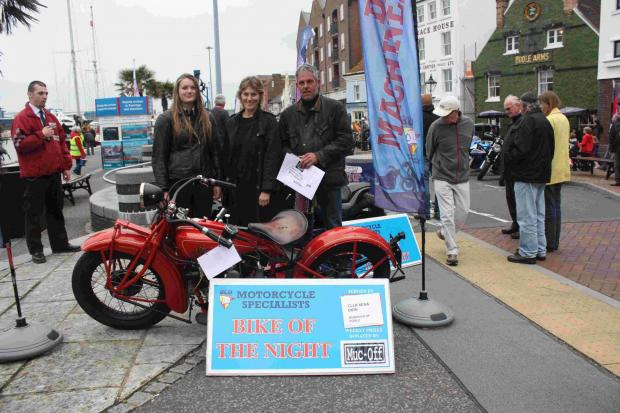 Motorcyclists defy wet weather for BLD Dream Machines event