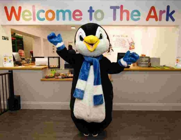 Tux the Penguin to abseil 110ft for Diverse Abilities Plus