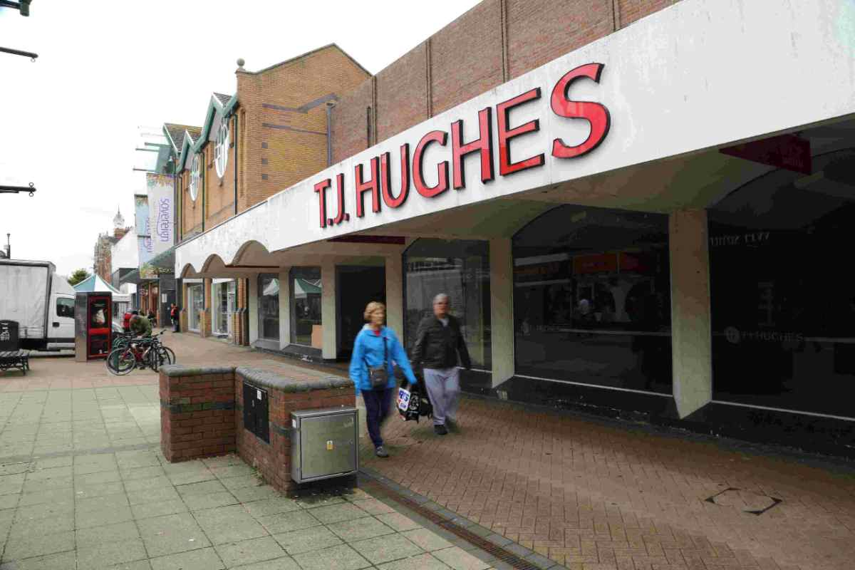 ACQUIRED: The former TJ Hughes site has been bought by the neighbouring Sovereign Centre