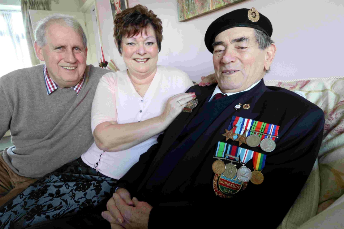 "VIDEO: ""It was a scene you've never seen before or since"" - veteran Ted Young's D-Day memories"
