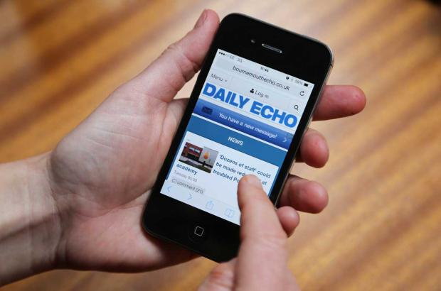 Now even easier to browse the Bournemouth Echo online on your mobile