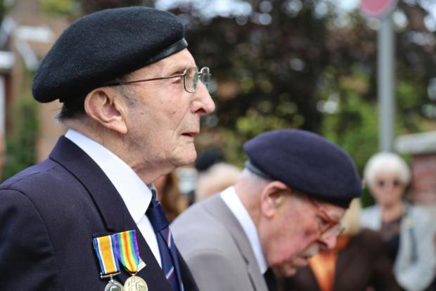 "Bournemouth Echo: VIDEO: Christchurch '""grateful and proud"" to be in company of D-Day veterans on 70th anniversary"