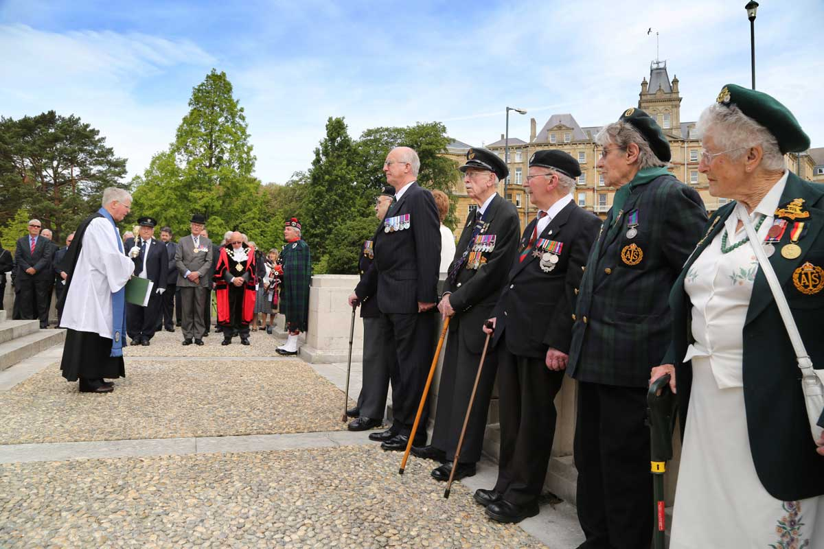 "VIDEO: ""I am lucky to be here today"" - a veteran remembers as Bournemouth marks D-Day anniversary"