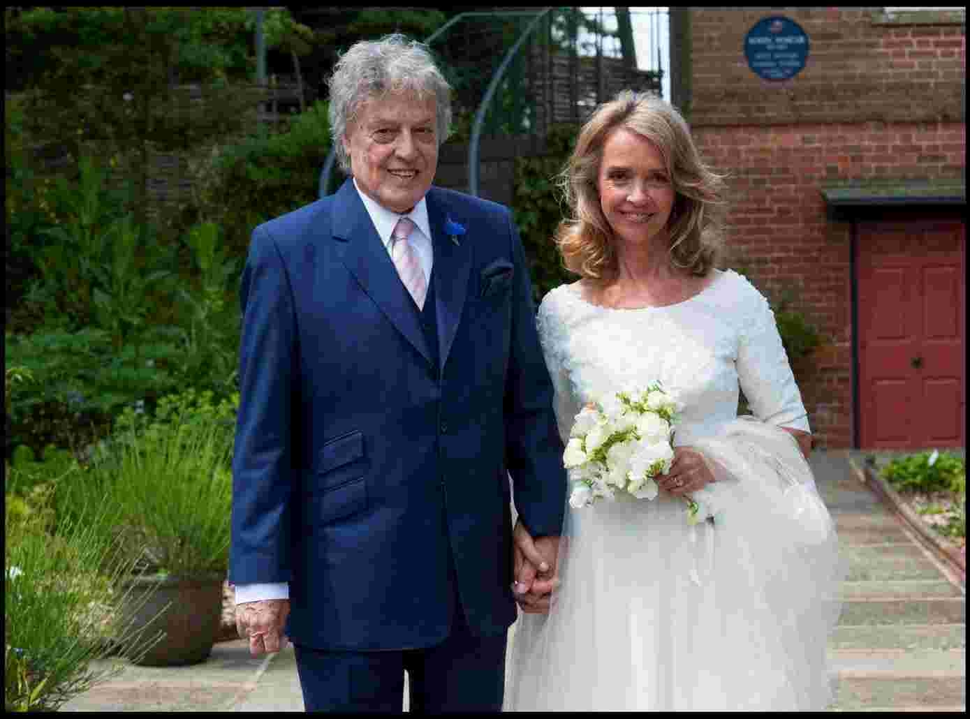 Playwright Sir Tom Stoppard marries brewery heiress Sabrina Guinness in Wimborne