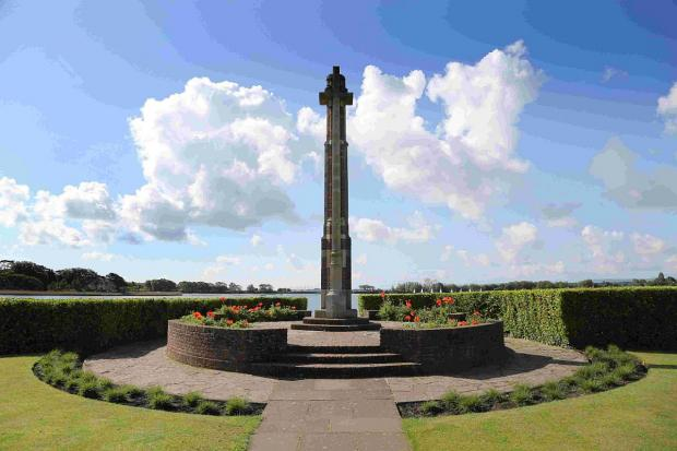 Bournemouth Echo: IN MEMORY: The War Memorial in Poole Park