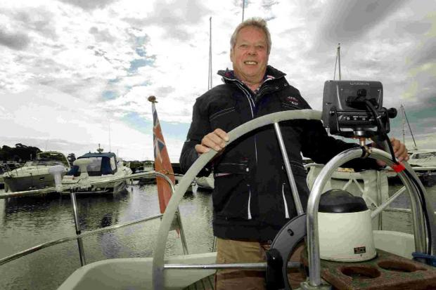 2,000 miles, three weeks, one man: Sailor's gruelling solo voyage in aid of cancer charity