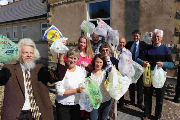 WELCOME MOVE: Plastic bag campaigners