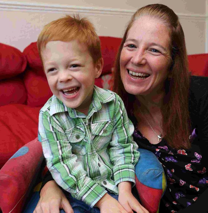My little fighter: mum tells of op to correct youngster's rare skull condition