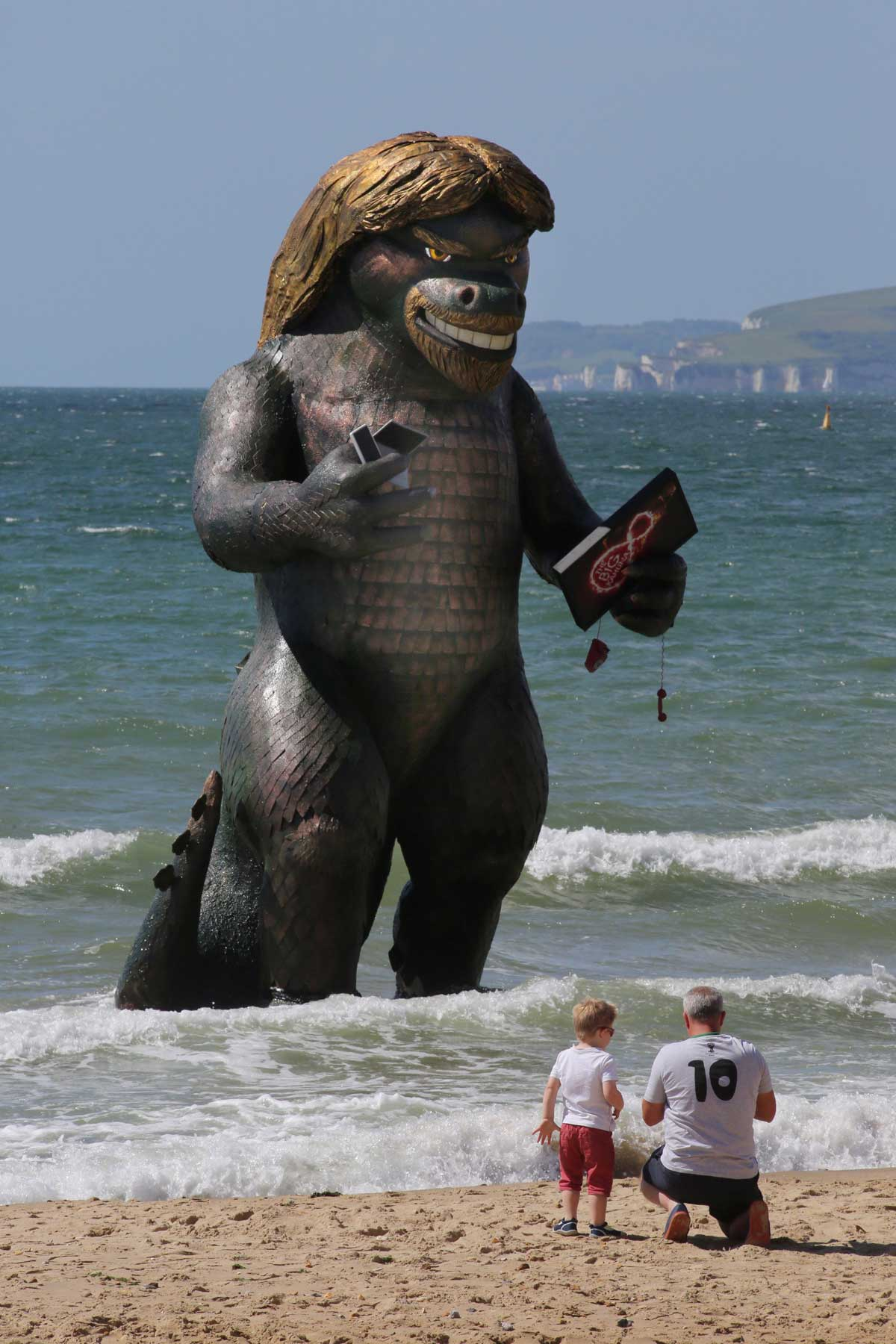 VIDEO: 'Monster' in the sea at Bournemouth causes a stir - send us your pictures