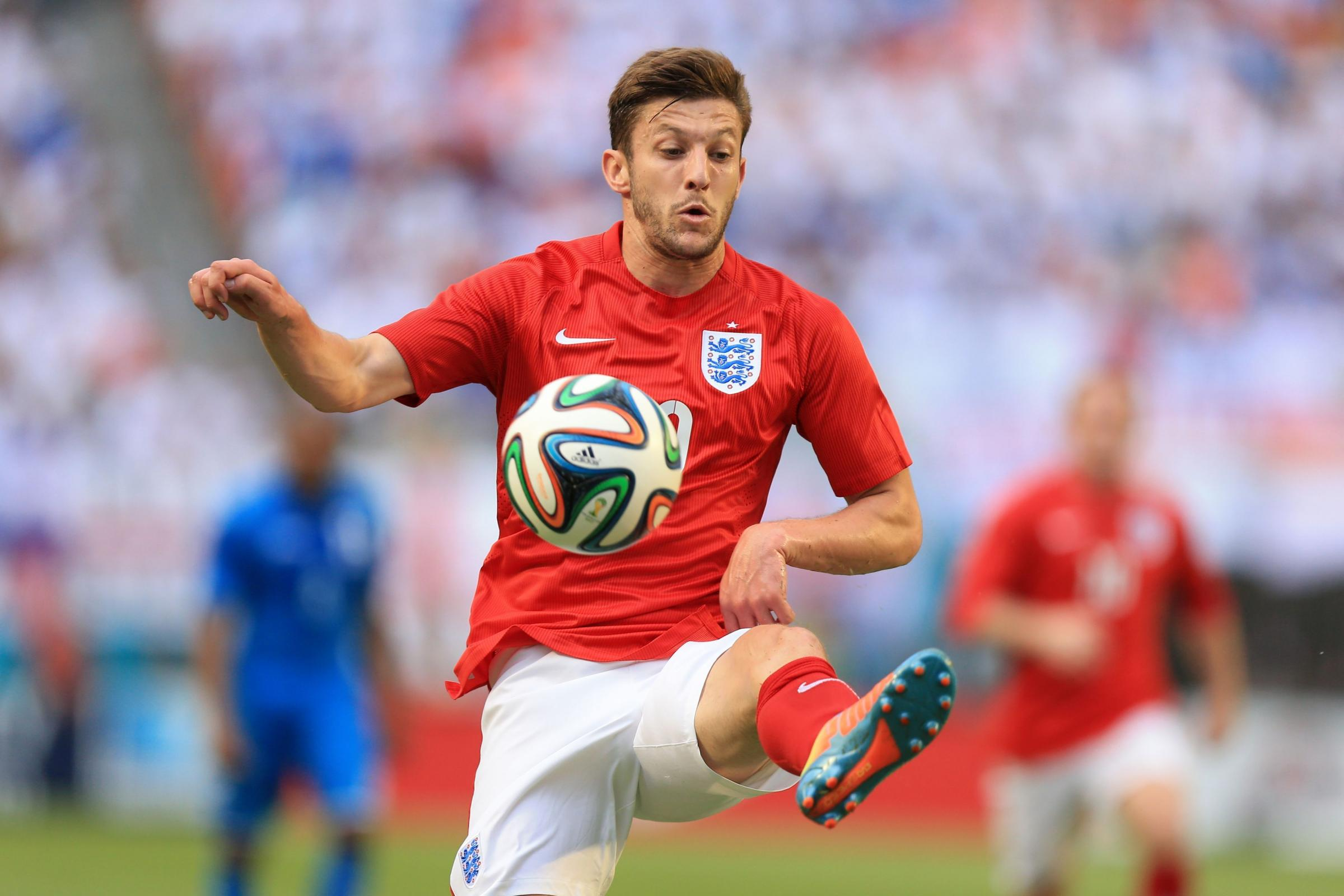 BIG MOVE: Liverpool's Adam Lallana
