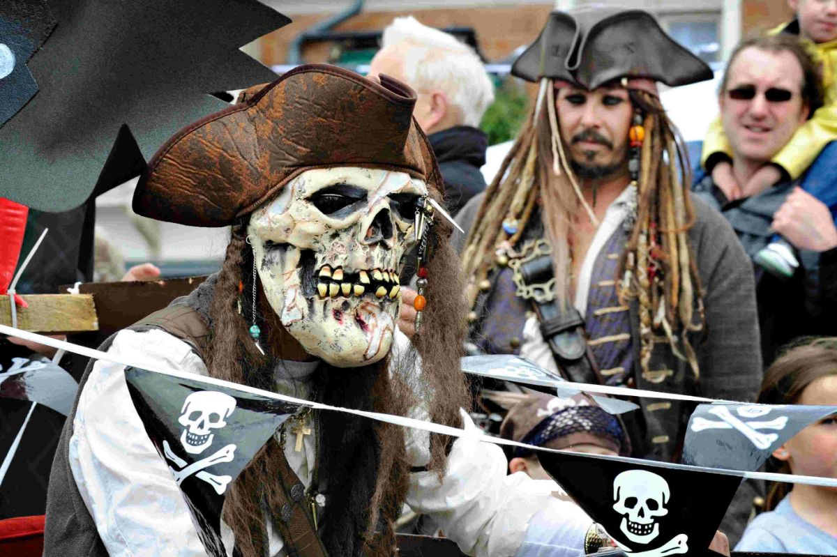 PIRATE PARADE: Last year's Harry Paye Day pirates