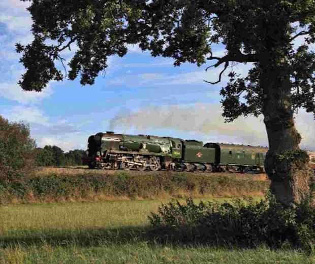 Historic locomotives set to stream into Bournemouth this summer