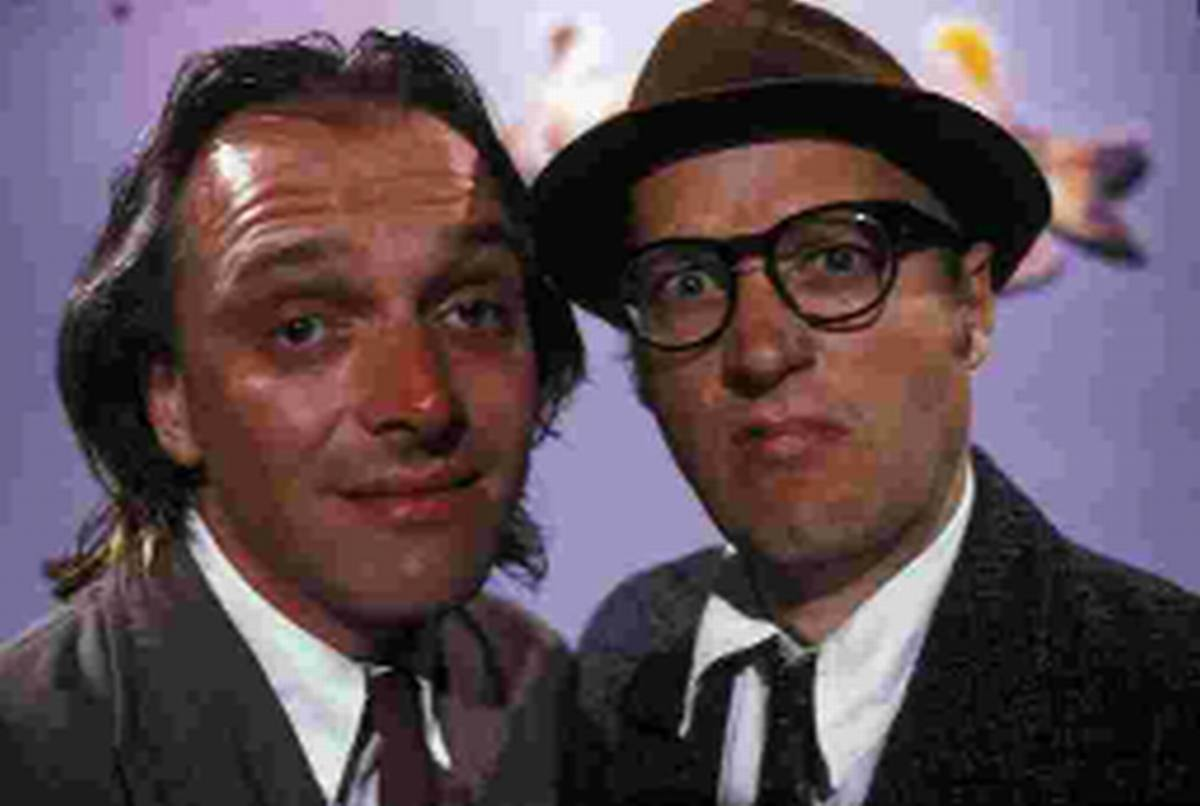 TOP SHOW: Rik Mayall and Adrian Edmondson, who starred in Bottom