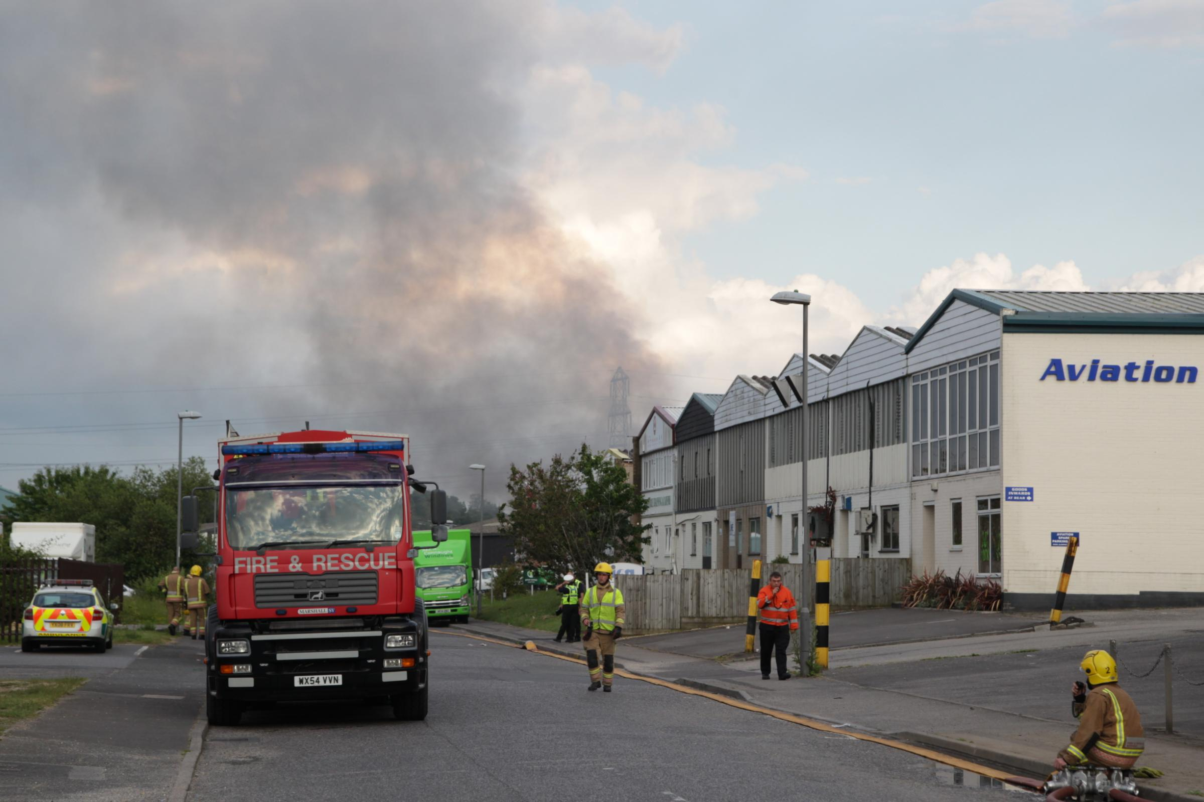 UPDATE WITH VIDEO: Factory destroyed by blaze caused by electrical fault
