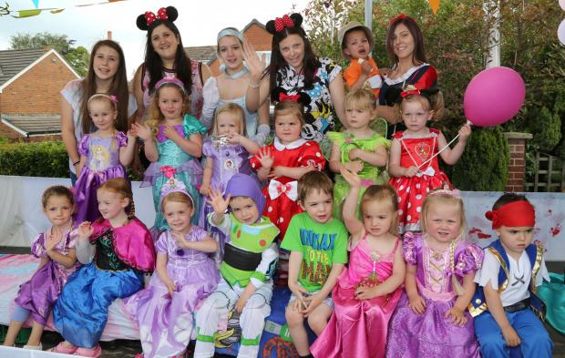 Bournemouth Echo: Streets of Corfe Mullen awash with colour for 48th annual event