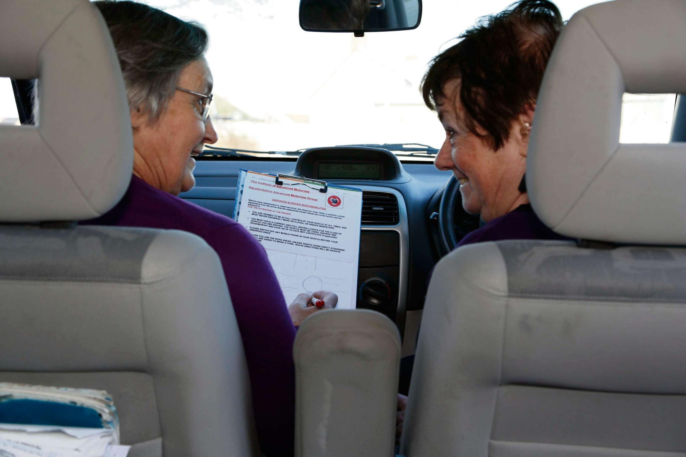 Older drivers invited to brush up on their driving skills on course