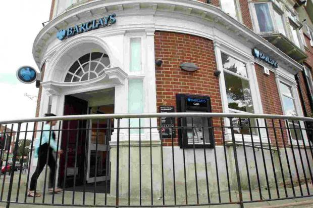 LACK OF CUSTOMERS: Barclays Bank branch in Southbourne