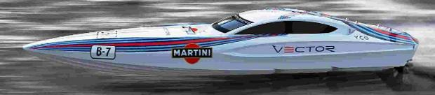 POWER: The Vector Martini boat