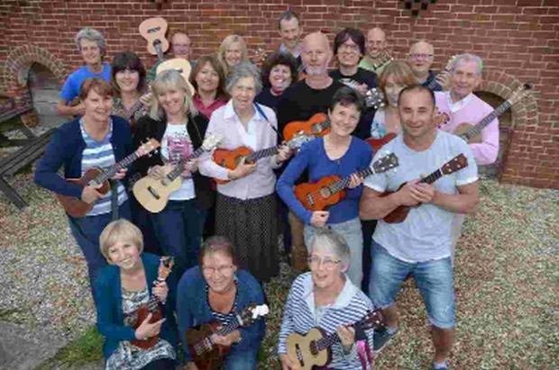 The Coda Ukulele Band