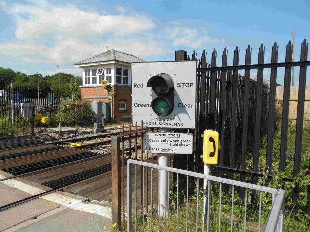 Bournemouth Echo: The level crossing