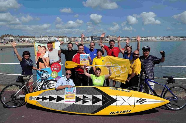 Bournemouth Echo: OPPORTUNITY: Dorset Beach Sports Festival launch at Weymouth beach
