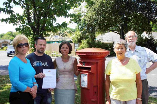 Residents are petitioning Royal Mail