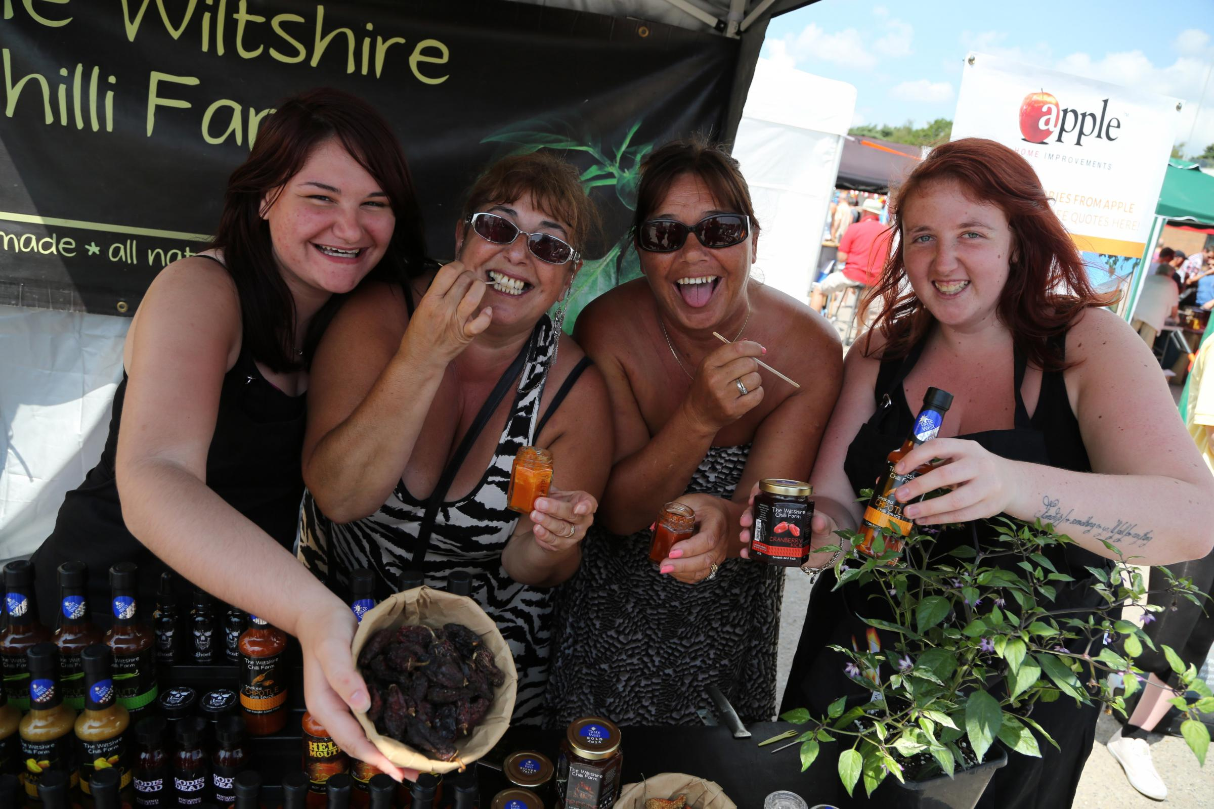 Chilli and cheese: Bournemouth's newest festival tickles vistors taste buds