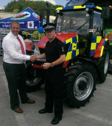 Meet the police tractor, the latest weapon in tackling rural crime