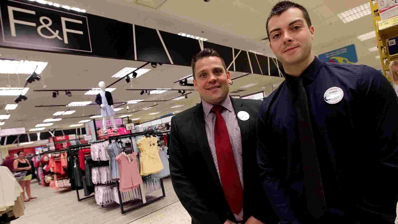 Manager Andy Hossack, left, and refit manager Richard Baird