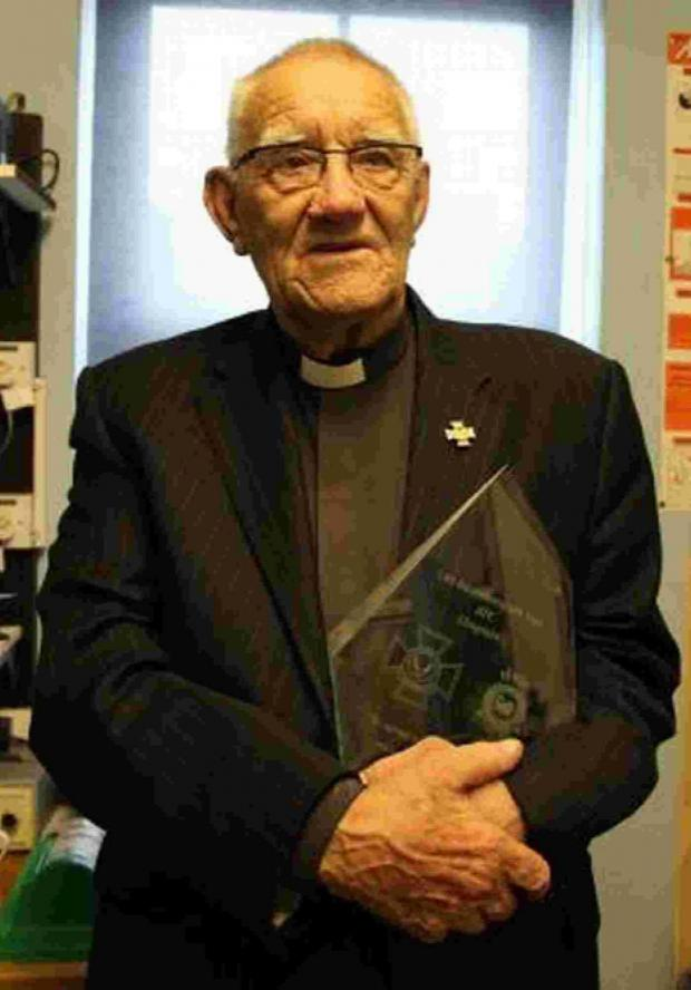 Bournemouth Echo: Chaplain to Bournemouth's Air Cadets retires at 79 years old