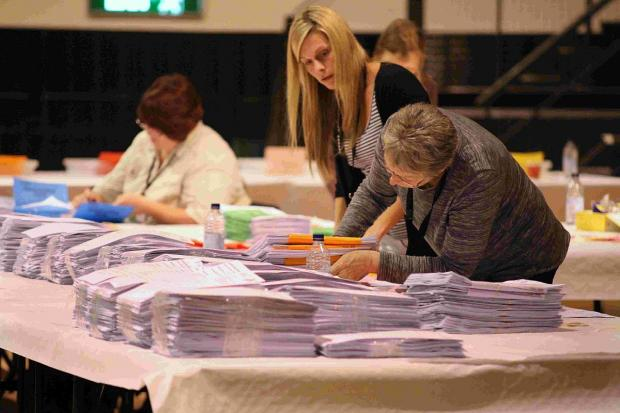CONTEST: The European election Poole count