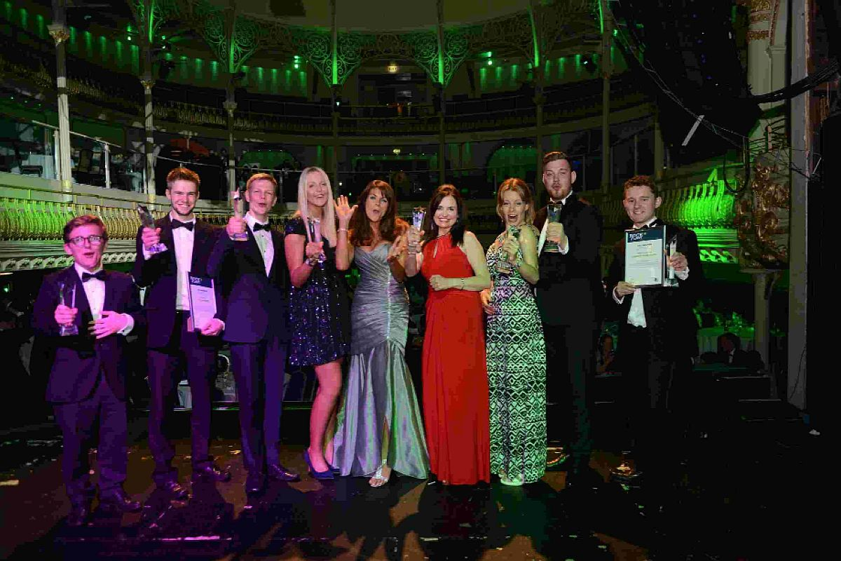 OUTSTANDING: Winners of the 2014 Rock Star Awards, held by Rock Recruitment Specialists