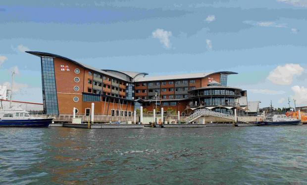 Bournemouth Echo: HONOUR: The RNLI station and college from the water