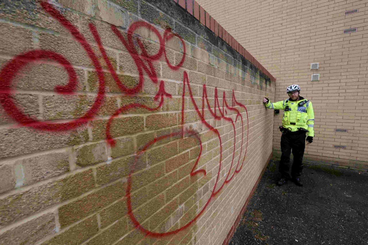 Police crackdown on graffiti spree in Christchurch