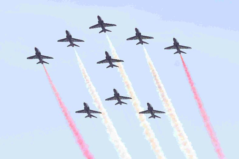 2014 Air Festival line-up revealed - see what time the Red Arrows will be flying