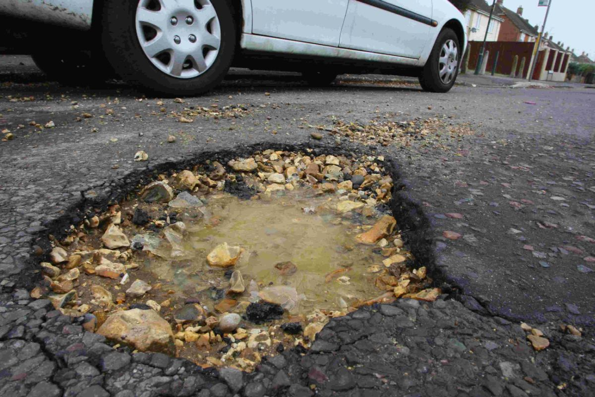 £286k to spend on potholes