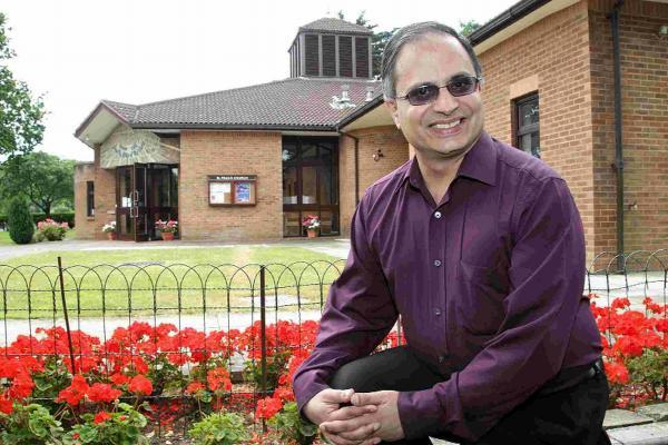 Bournemouth Echo: Rev Dr Rohintan Mody at St Paul's