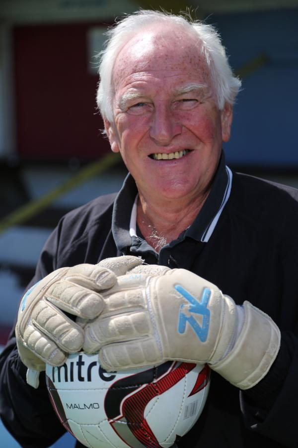GOING STRONG: John Macey still can't get enough of the beautiful game