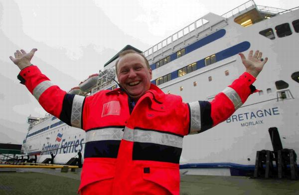 Brittany Ferries general manager at Poole Steve Warner