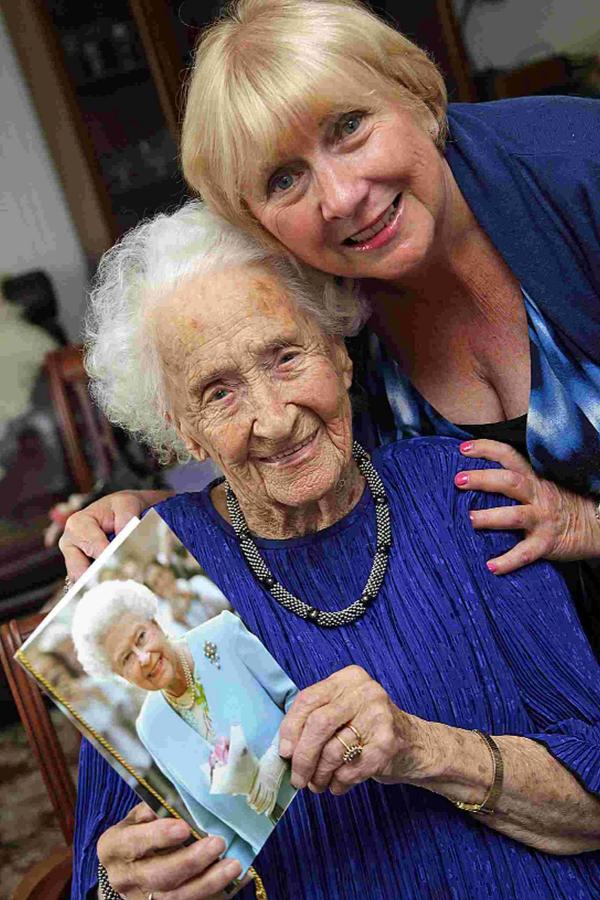 Inspirational Hilda Fox is 105 but has never felt old