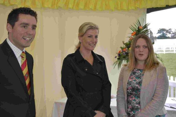 Countess of Wessex visits New Forest showground
