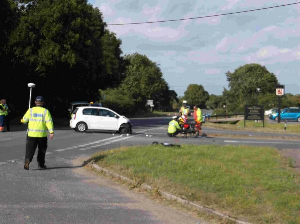 'Serious' crash closes A352 near Winfrith