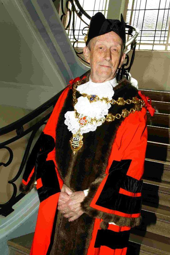 The Mayor, Councillor Peter Adams