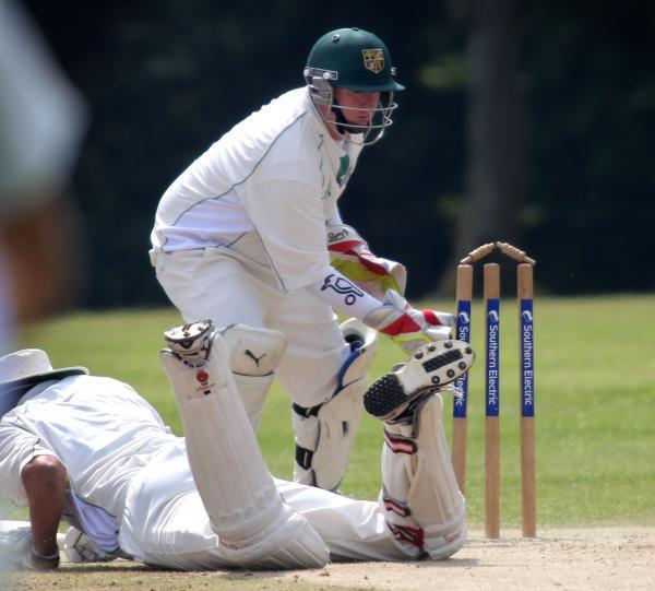 NEW MILTON CAPTAIN: Wicketkeeper Ryan Beck