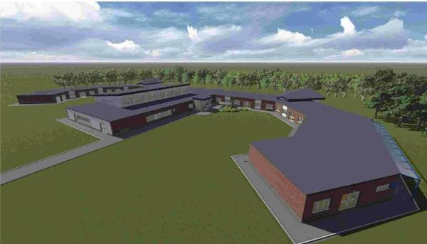 Artist's impression of what Avonwood Primary School could look like, subject to consultation and planning permission